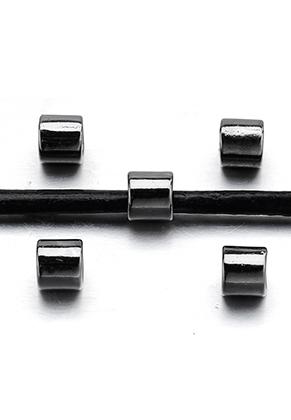 www.sayila.nl - Groot-gat-style metalen kralen buisje 7x6mm
