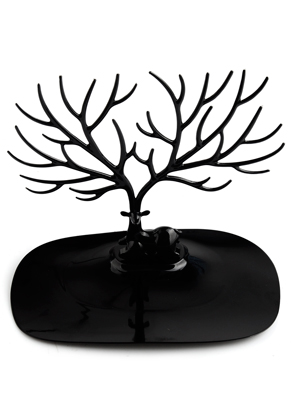 www.sayila.com - Synthetic jewelry holder deer 25x23x15cm