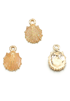 www.sayila.com - Metal pendants/charms shell 18,5x12,5mm