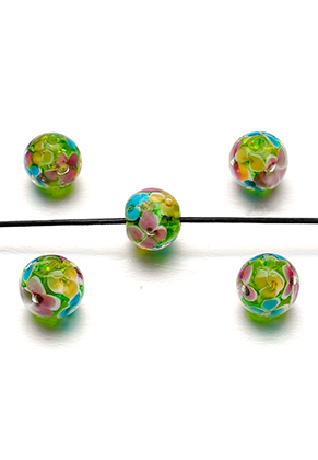 www.sayila.nl - Italian style glaskraal rond 12mm