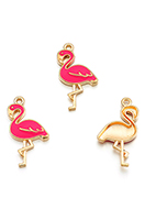 www.sayila.nl - Metalen hangers flamingo 30x16mm - D29018