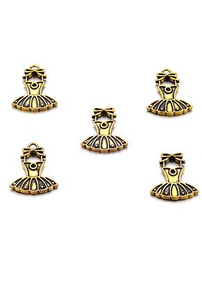 www.sayila.fr - Pendentifs en métal robe 21x15,5mm