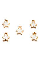 www.sayila.co.uk - Metal pendants/charms star 9x7mm - D29101