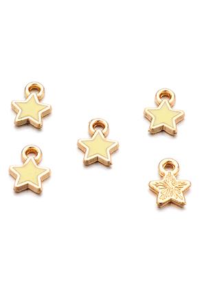 www.sayila.fr - Pendentifs/breloques en métal étoile 9x7mm