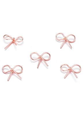 www.sayila.com - Metal pendants/connectors bow 12x9mm