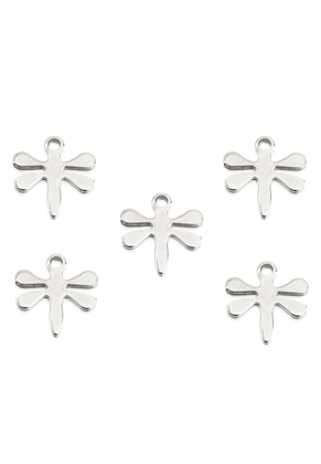 www.sayila.com - Stainless steel pendants/charms dragonfly 12x11mm