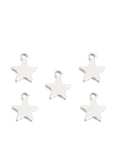 www.sayila.com - Stainless steel pendants/charms star 10x8mm - D29265