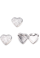 www.sayila.com - Metal pendant locket heart 29mm - D29304