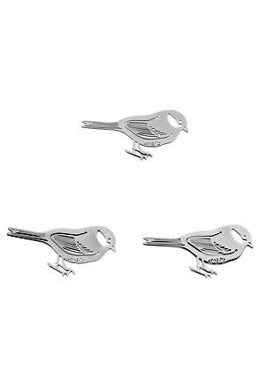 www.sayila.nl - Metalen boekenleggers/hangers vogel 54x33mm