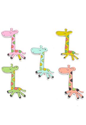 www.sayila.be - Houten hangers giraffe 54x25,5mm