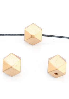 www.sayila.com - Wooden beads faceted 20x19mm