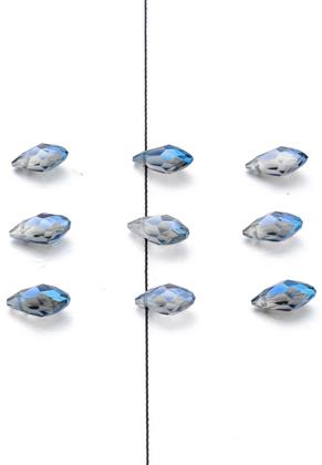 www.sayila.nl - Glaskralen kristal druppel 12x6mm