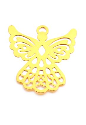 www.sayila.fr - Marque-page/pendentif en métal ange 44,5x38,5mm