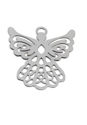 www.sayila.com - Metal bookmark/pendant angel 44,5x38,5mm