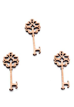 www.sayila.nl - Houten hangers sleutel 49x20mm