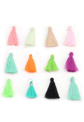www.sayila.com - Mix textile tassels 25-35x10mm