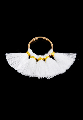 www.sayila.com - Fringe fan pendant 35x28mm