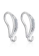 www.sayila.fr - Pendants d'oreille en métal avec strass 16x9mm - D29969