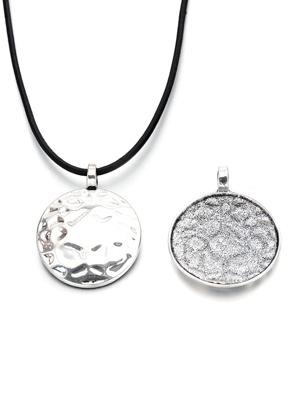 www.sayila.com - Metal pendant round 54x4mm