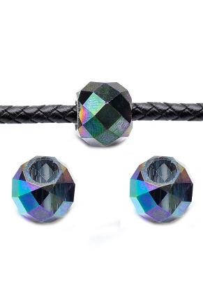 www.sayila.nl - Glaskralen kristal ovaal facet geslepen 14x11mm