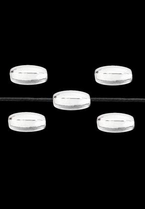 www.sayila.nl - Metalen kralen ovaal 7,5x4mm