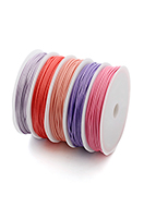www.sayila.com - Mix wax cord 1mm (5 meter) - D30426