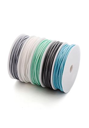 www.sayila.com - Mix wax cord 2mm (5 x 4 meter)