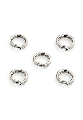 www.sayila.nl - Roestvrijstalen dubbele ringetjes 5mm (0,5mm dik) (± 150 st.)