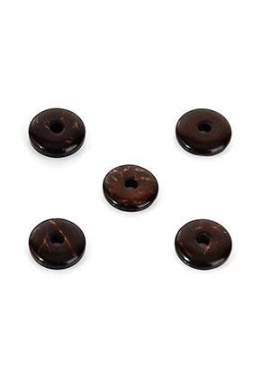 www.sayila.co.uk - Coconut wooden spacer beads 8,5x2,5mm