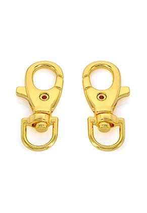 www.sayila-perlen.de - Metall Schlüsselanhänger Verschlüße 39x17mm