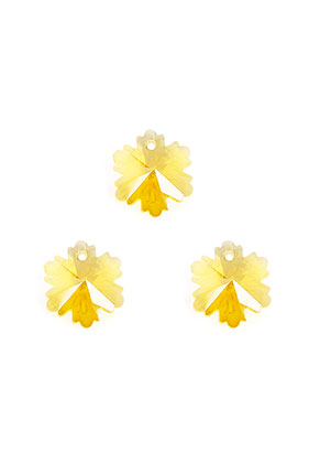 www.sayila.nl - Glas hangers bloem facet geslepen 14x12mm