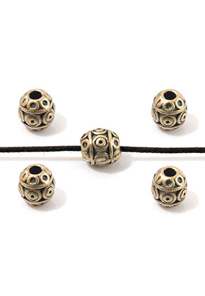 www.sayila.be - Metalen kralen ovaal 7x6mm