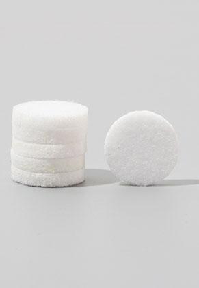 www.sayila.com - Felt Doublebeads discs/perfume pads round 17mm