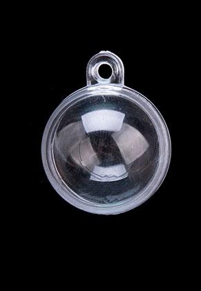 www.sayila.co.uk - Synthetic pendants globe divisible 36x30x30mm