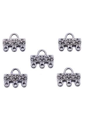 www.sayila.nl - Metalen hangers/tussenzetsels/verdelers met oogjes 13x11mm