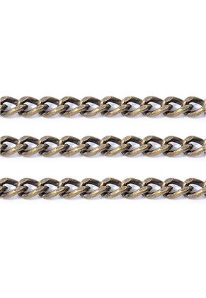 www.sayila.nl - Metalen ketting met 8x5mm schakels (± 100cm)