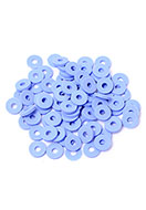 www.sayila.com - African vinyl style polymer clay record disc beads 6x1mm (± 320 pcs.) - D31953