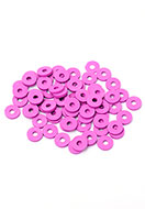 www.sayila.com - African vinyl style polymer clay record disc beads 6x1mm (± 320 pcs.) - D31961