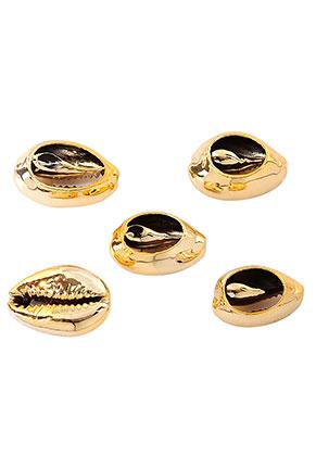 www.sayila.com - Shell beads with plating 24-26x16-17mm