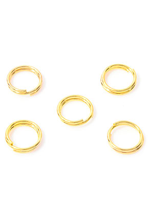 www.sayila.nl - Metalen dubbele ringetjes 8mm (± 135 st.)