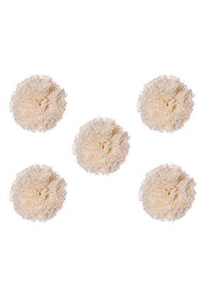 www.sayila.fr - Pompons en textile 20mm