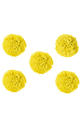 www.sayila.co.uk - Textile pompoms 20mm