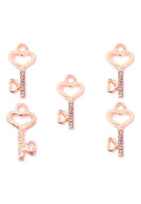 www.sayila.es - Colgantes de metal con strass llave 23x10,5mm