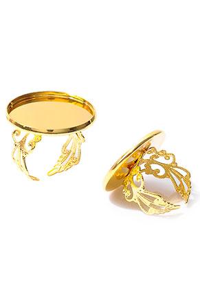 www.sayila.com - Metal rings >= Ø 17,5mm with setting for 25mm flatback