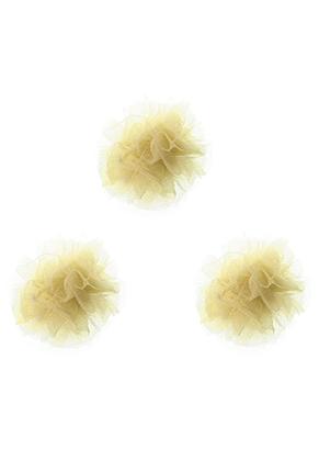 www.sayila.nl - Stoffen pompon balletjes 40mm
