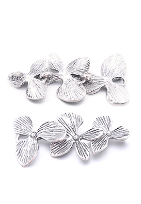 www.sayila.com - Metal pendant/connector flowers 45x20mm
