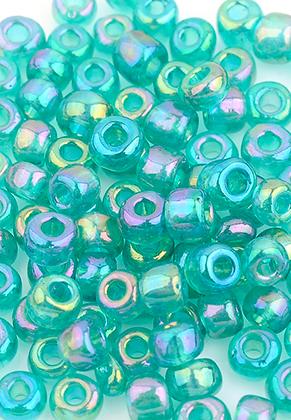 www.sayila-perlen.de - Glas Rocailles 8/0-6/0 4x2,5-3mm (± 700 St.)
