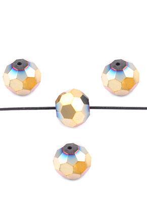 www.sayila.nl - Glaskralen kristal rondel facet geslepen 16x13,5mm