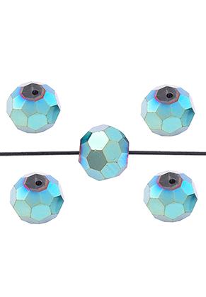 www.sayila.nl - Glaskralen kristal rondel facet geslepen 10x9mm