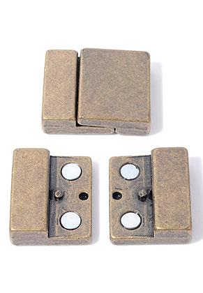 www.sayila.es - Cierre de metal magnéticos 30x25,5mm (hueco 22,5x3,5mm)